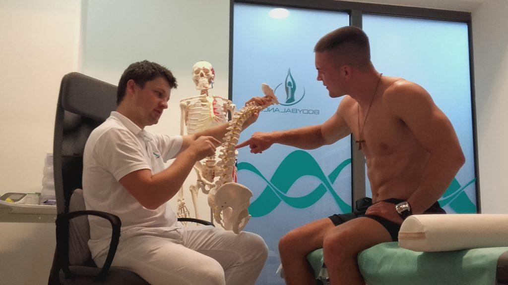 pregled i procjena fizioterapeuta